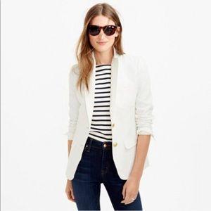 J Crew white linen Rhodes blazer, new with tags
